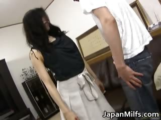 Horny japanese MILFS sucking and shafting part3