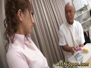 Anna Mizukawa Unsatisfactory Asian model gets part1