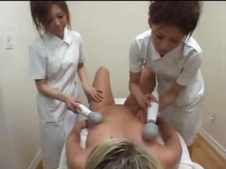 Japanese Girls In the matter of Massage