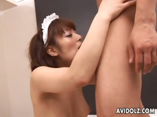Bizarre Akane Mochida nailed hard