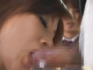Asian babe has public sex jav part2