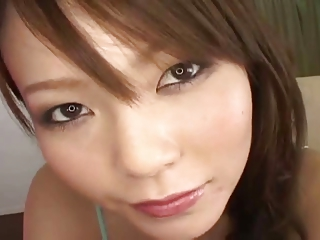 Sated Japanese pulchritude gets multi-creampie