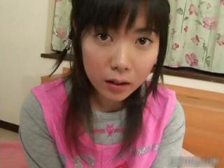 Seductive asian schoolgirl gets a affectionate part5