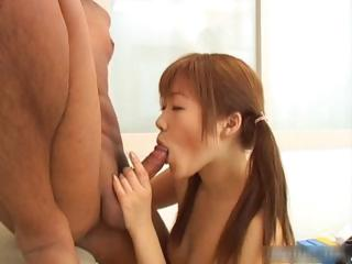 Japenese redhead encircling full of life tits gets part4