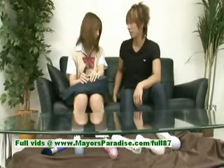 Risa Tsukino unpretentious chinese unladylike is a cute schoolgirl