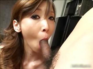 Jpanaese Yui Natsuki sucking flannel part2