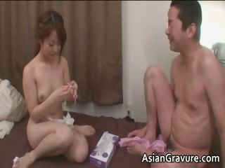 Hot ugly sexy body cute asian babe in arms part3