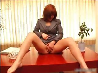 Asian redhead ID her pussy porn part1