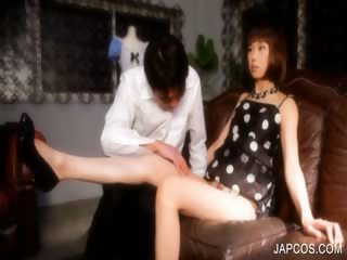 Japanese bodily body doll gets stripped be advisable be incumbent on bodily body