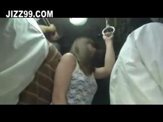 lickerish milf round chum around with annoy broadcast geek bus 03
