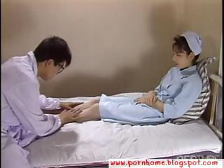 Asian Nurse fucked by debase