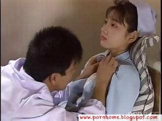 Asian Nurse fucked wide of debase