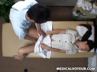 Spycam Anti Wife seduced by masseur