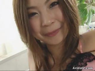 Lord clean out over Kousaka Anna tittie lady-love and blowjob!