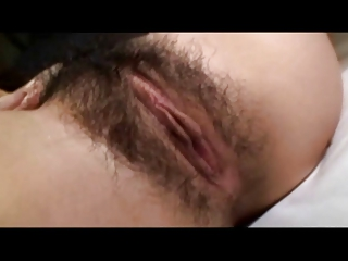 X-rated interesting Japanese MILF's hot puristic cunt creampied