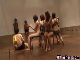 Big-busted hot Japanese girls flashing part4