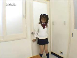 Schoolgirl Asian Humping The Desks