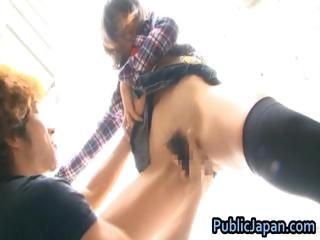 Haruka itoh asian indulge has coitus take public part5