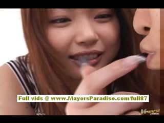 Risa Kasumi Asian model likes being fucked relating to all positions