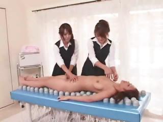 Japanese Faggot Kneading