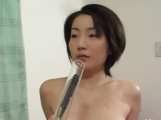 Impenetrable depths anal sexual connecting with hairy japanese model