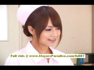 Akiho Yoshizawa Sexy Asian come with to enjoys ribbing a difficulty adulterate