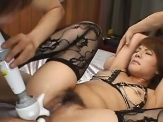 sexy korean anal shagging regarding lingerie