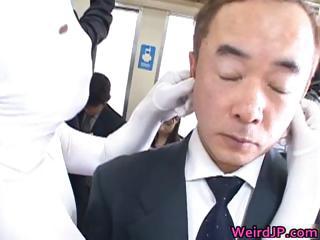 Cock hot to trot asian sluts sucking fucking part5