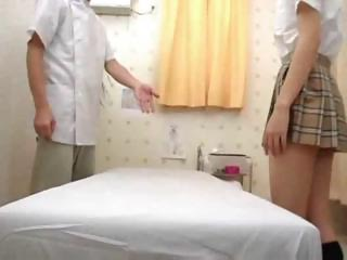 School Teen Seduced During Massage Part 1