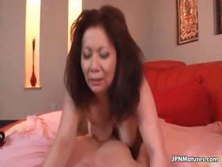 Thick grown-up housewife loves getting
