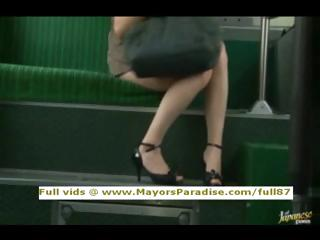 Rio natural asian girl is fucked on the bus