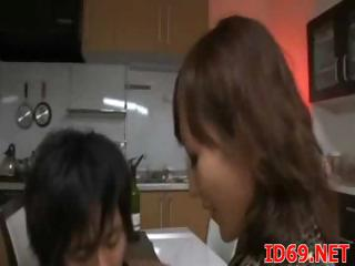 Japanese Chick Has Some Amusement