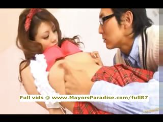Risa Tsukino natural Chinese in motor coach destroyed with the addition of blowjobs