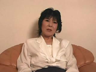 Mature Japanese Lady Playing