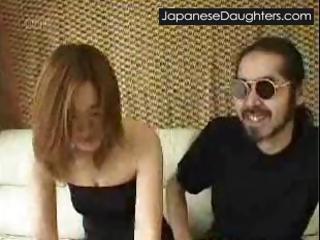 Destroy Go wool-gathering Japanese daughter