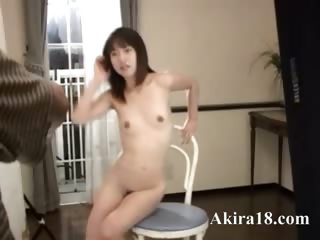 Petite 18yo girl immigrant Japan devour cock