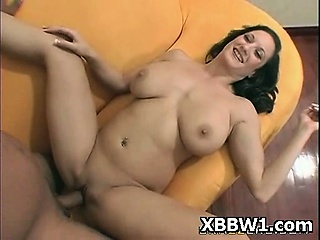 Juicy Hot BBW Seduced With an increment of Fucked Wild